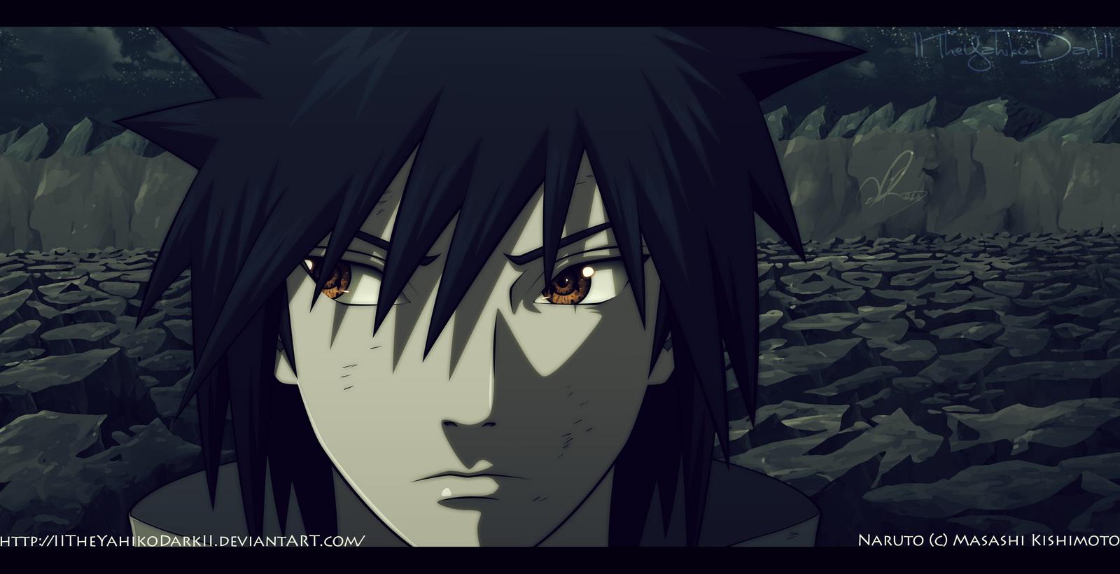 Naruto 661 Uchiha Izuna by IITheYahikoDarkII