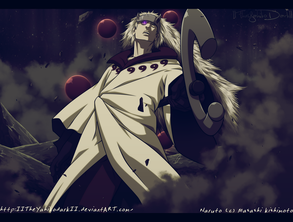 Naruto 664 I Had To Come In Here by IITheYahikoDarkII