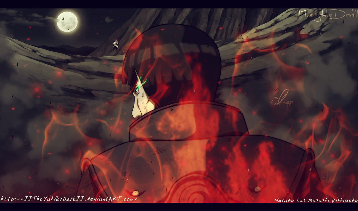 Naruto 667 The Red Beast Is Born by IITheYahikoDarkII