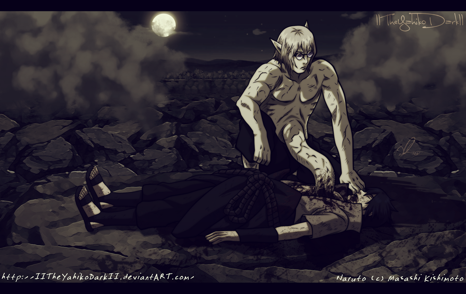 Naruto 667 The Snake Is Alive by IITheYahikoDarkII