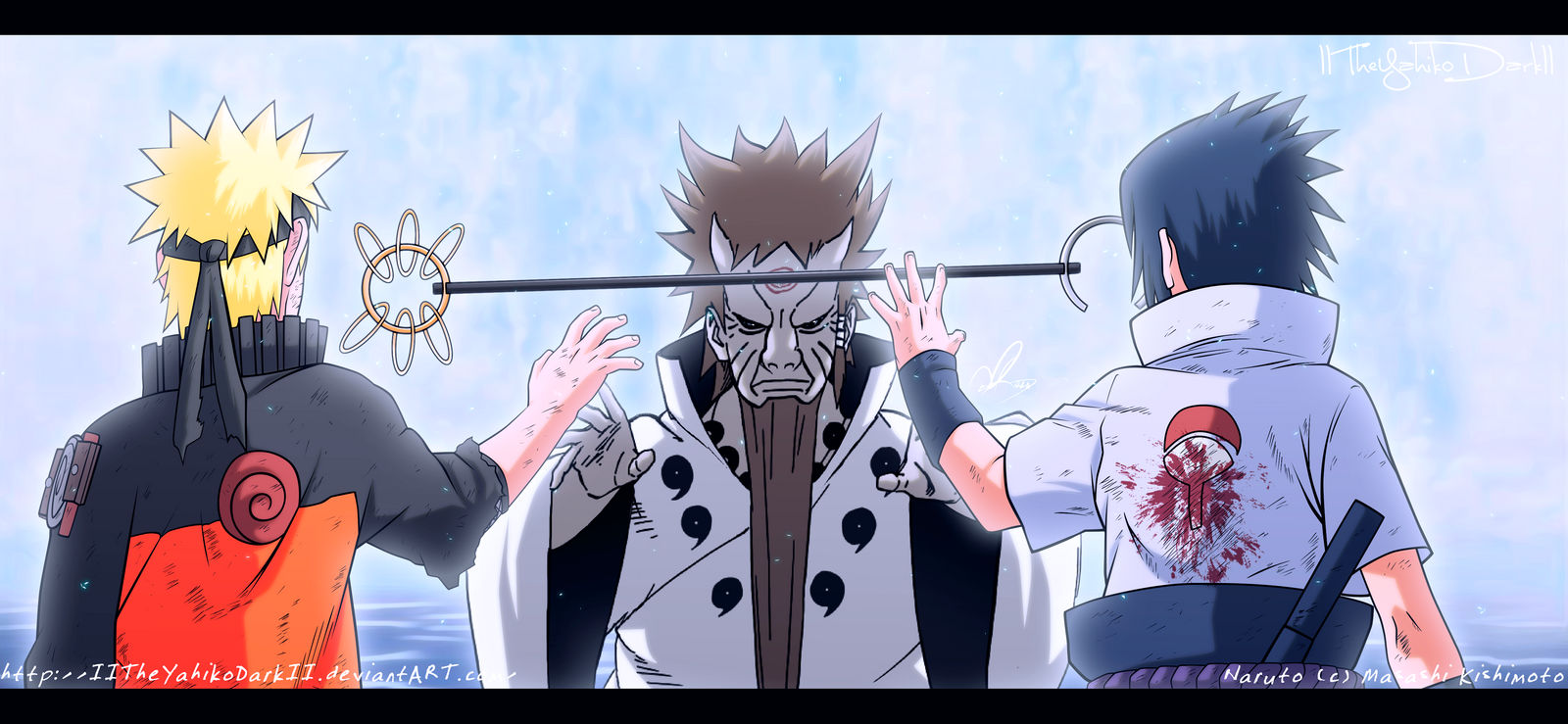 Naruto 671 The Destination Is In Their Hands