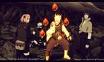 Naruto Manga 675 The Work Of The Team Seven
