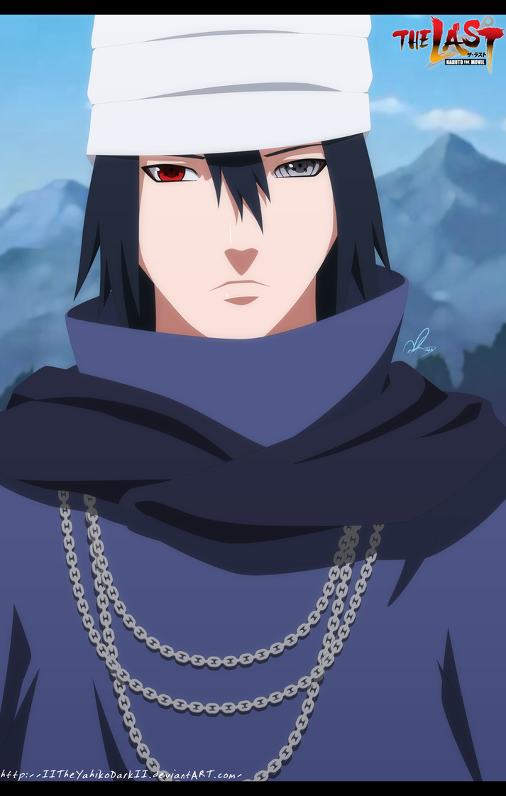 Naruto The Last Movie Sasuke Uchiha by IITheYahikoDarkII ...