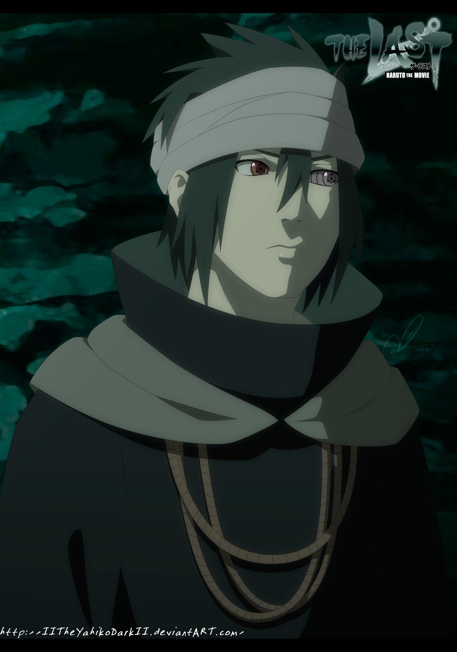 Naruto The Last Movie Uchiha Sasuke