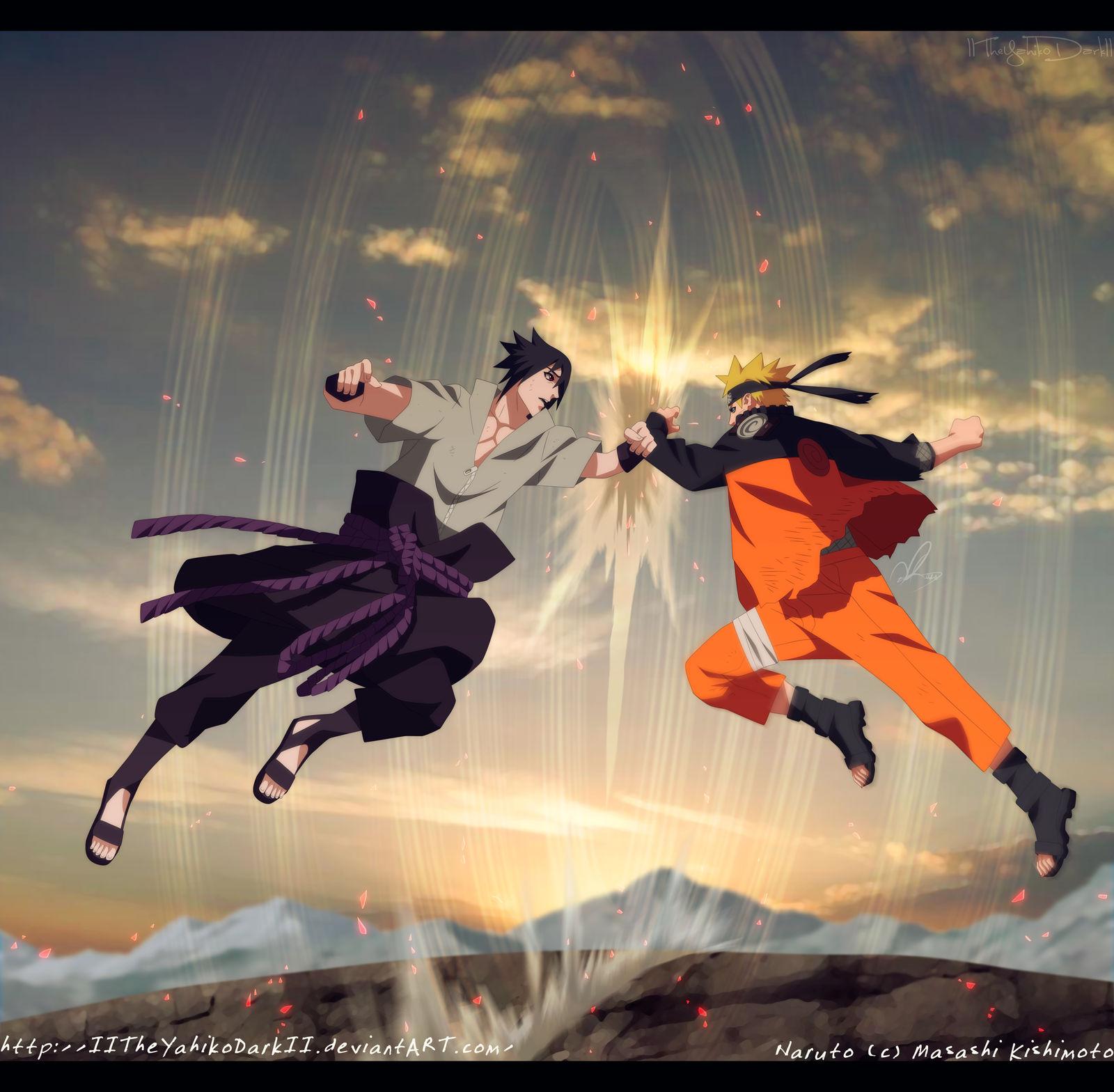 Naruto 694 I Will Have To Kill You