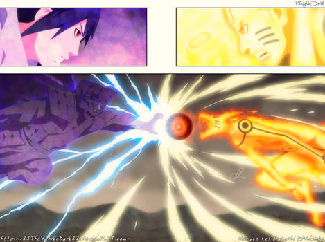 Naruto 695 Two Forces Collide
