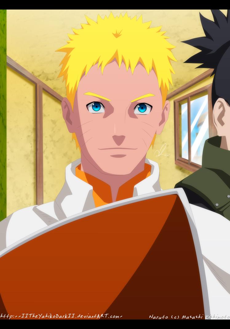 Naruto 700 Seventh Hokage Uzumaki Naruto by IITheYahikoDarkII
