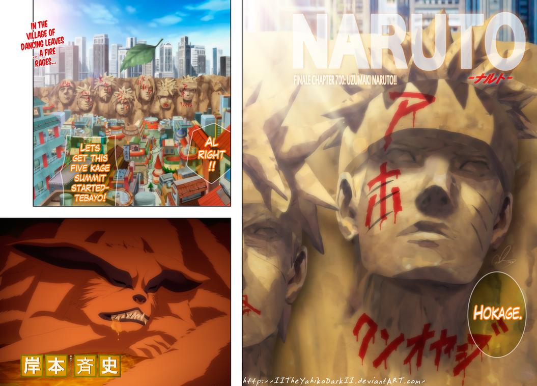 Naruto Manga 700 Uzumaki Naruto by IITheYahikoDarkII