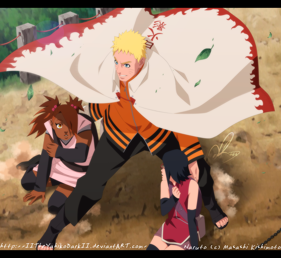 Naruto 700+3 In The Last Second by IITheYahikoDarkII