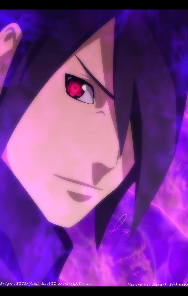 Naruto 700+9 Smile Of Pride by IITheYahikoDarkII