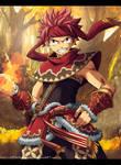 Fairy Tail Natsu The Fire Burns