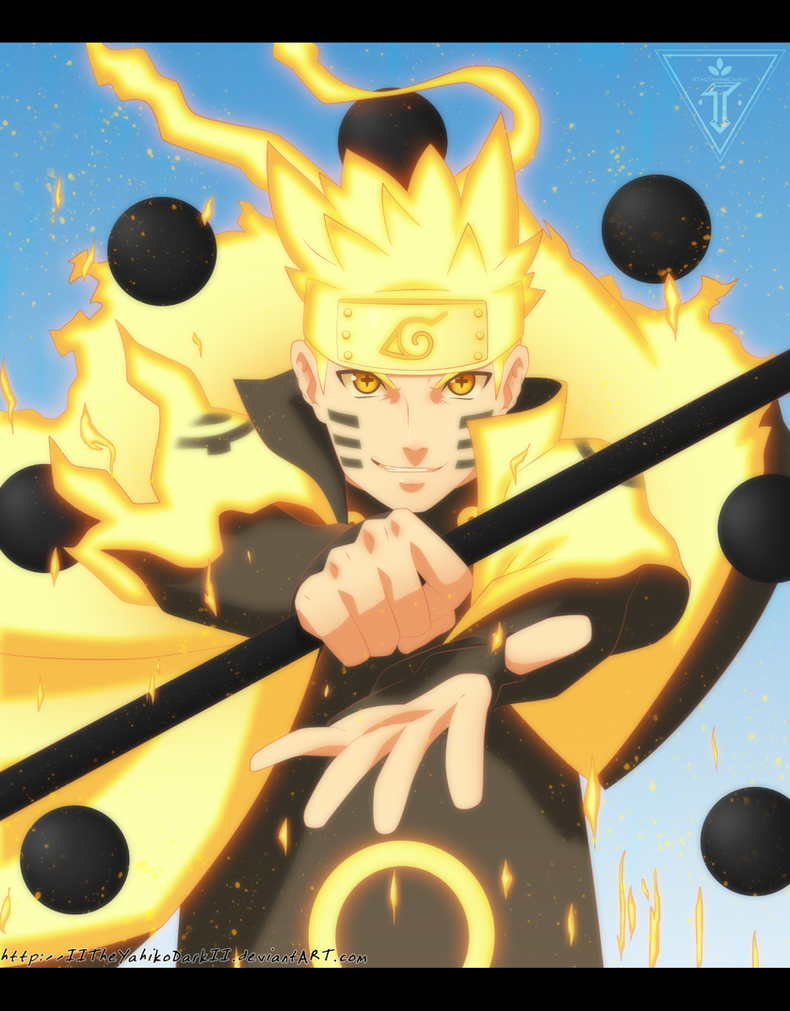 Naruto The Sun Is Shinin Thanks For 500k Pageviews by IITheYahikoDarkII