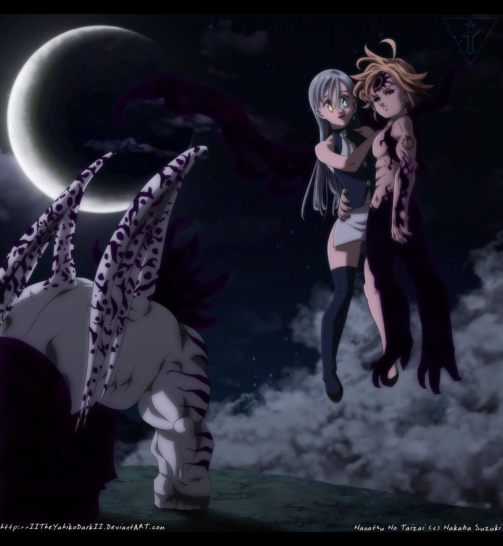 Nanatsu No Taizai Elizabeth Demon - Nanatsu No Taizai 242 The Resurgence Of The Demon by ...