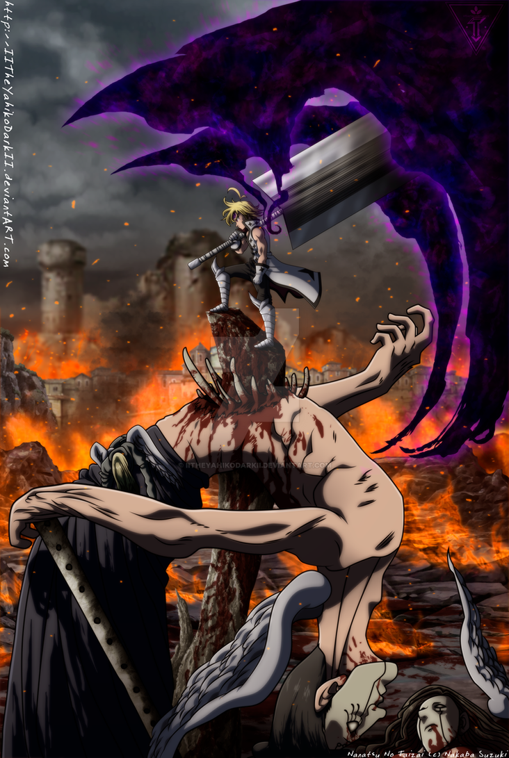 Nanatsu No Taizai Elizabeth Dies - Nanatsu No Taizai 229 Almighty Death Demon by ...
