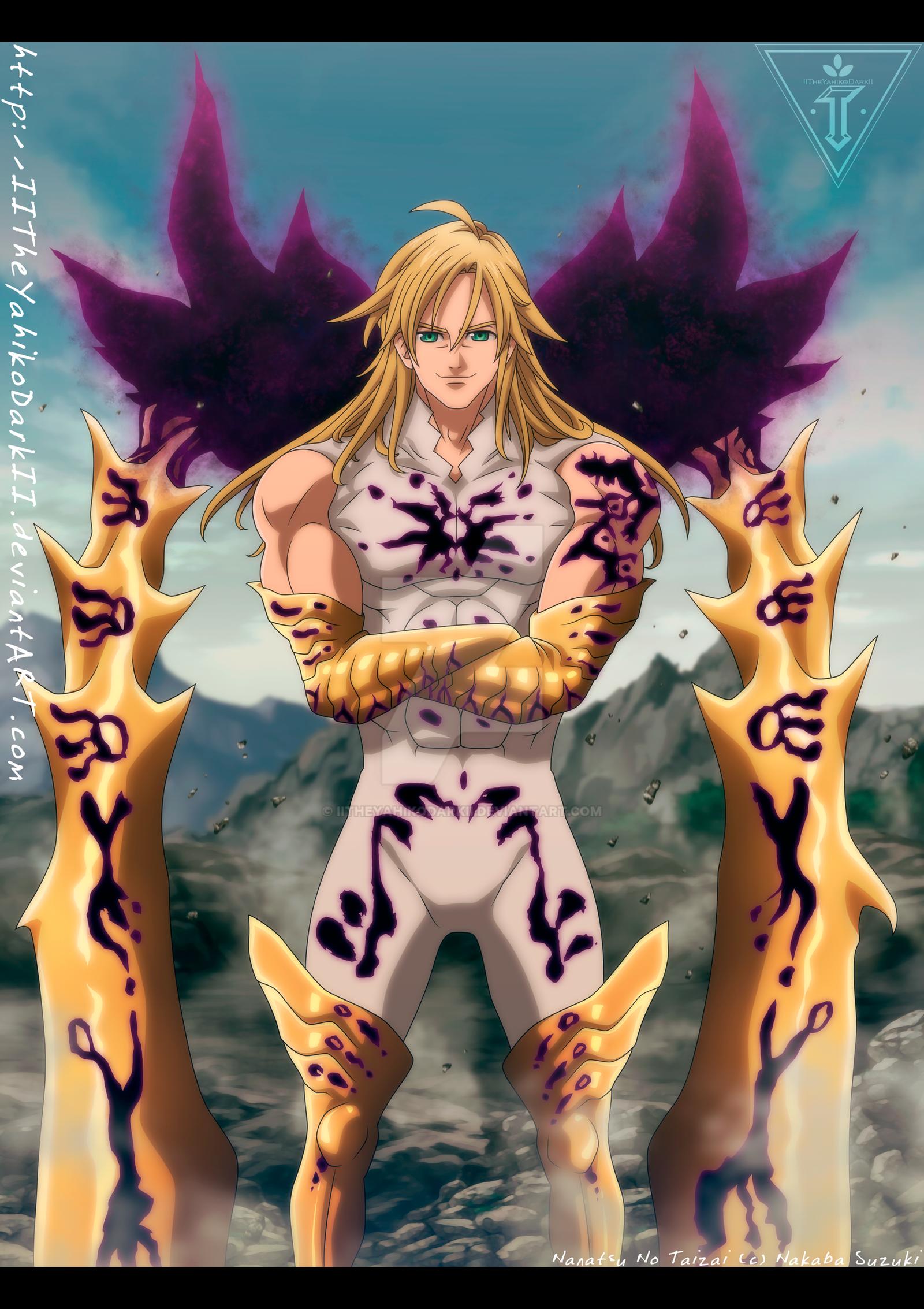 Nanatsu No Taizai 300 The Demon King Meliodas by ...
