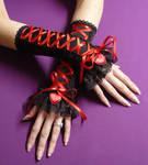 Red Heart Gloves