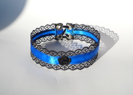 Plavo kao ... - Page 3 Gothic_Choker_with_royal_blue_by_Estylissimo