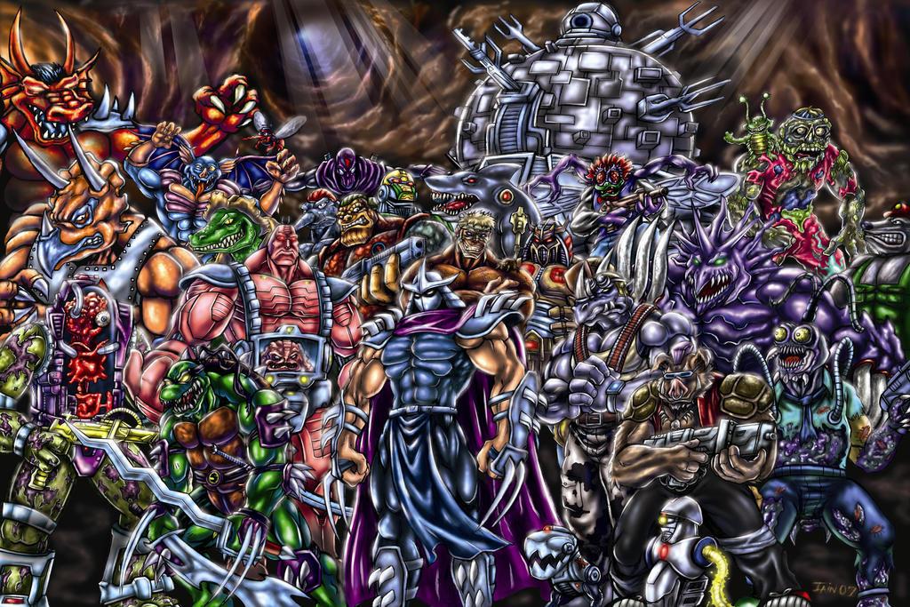 tmnt shredder s brute squad crush the turtles by soulstryder210