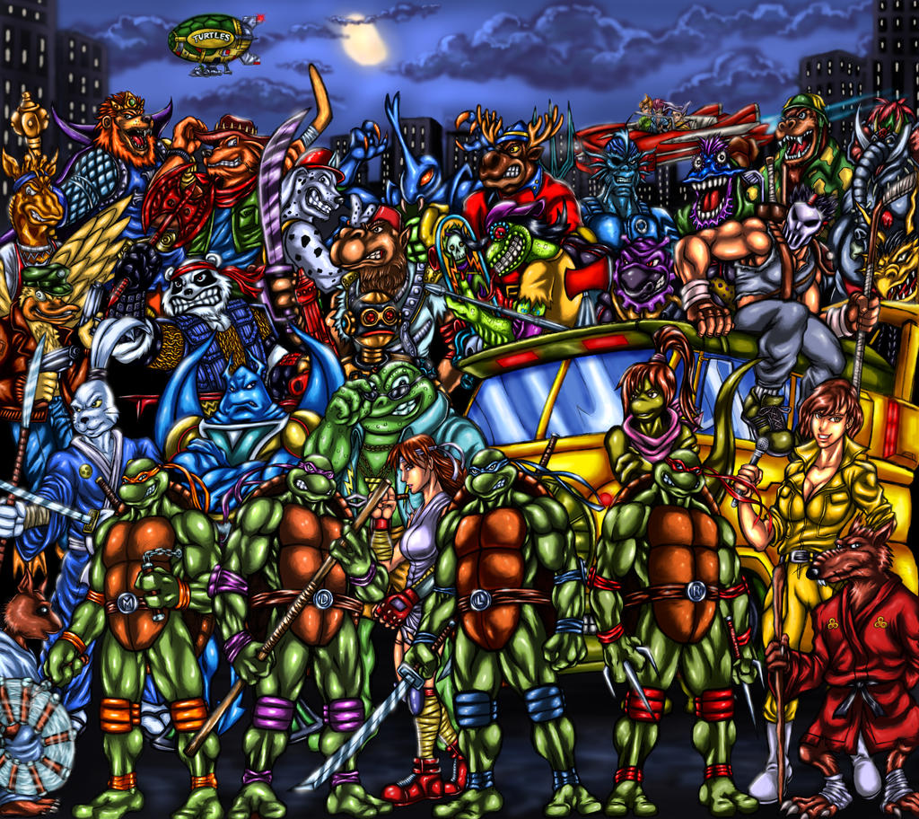 tmnt   looking for a few good mutants by soulstryder210 on