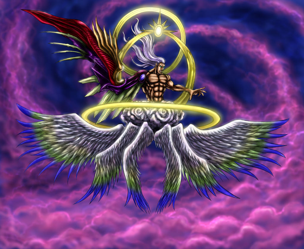 Final Fantasy Vii Safer Sephiroth One Winged Angel By