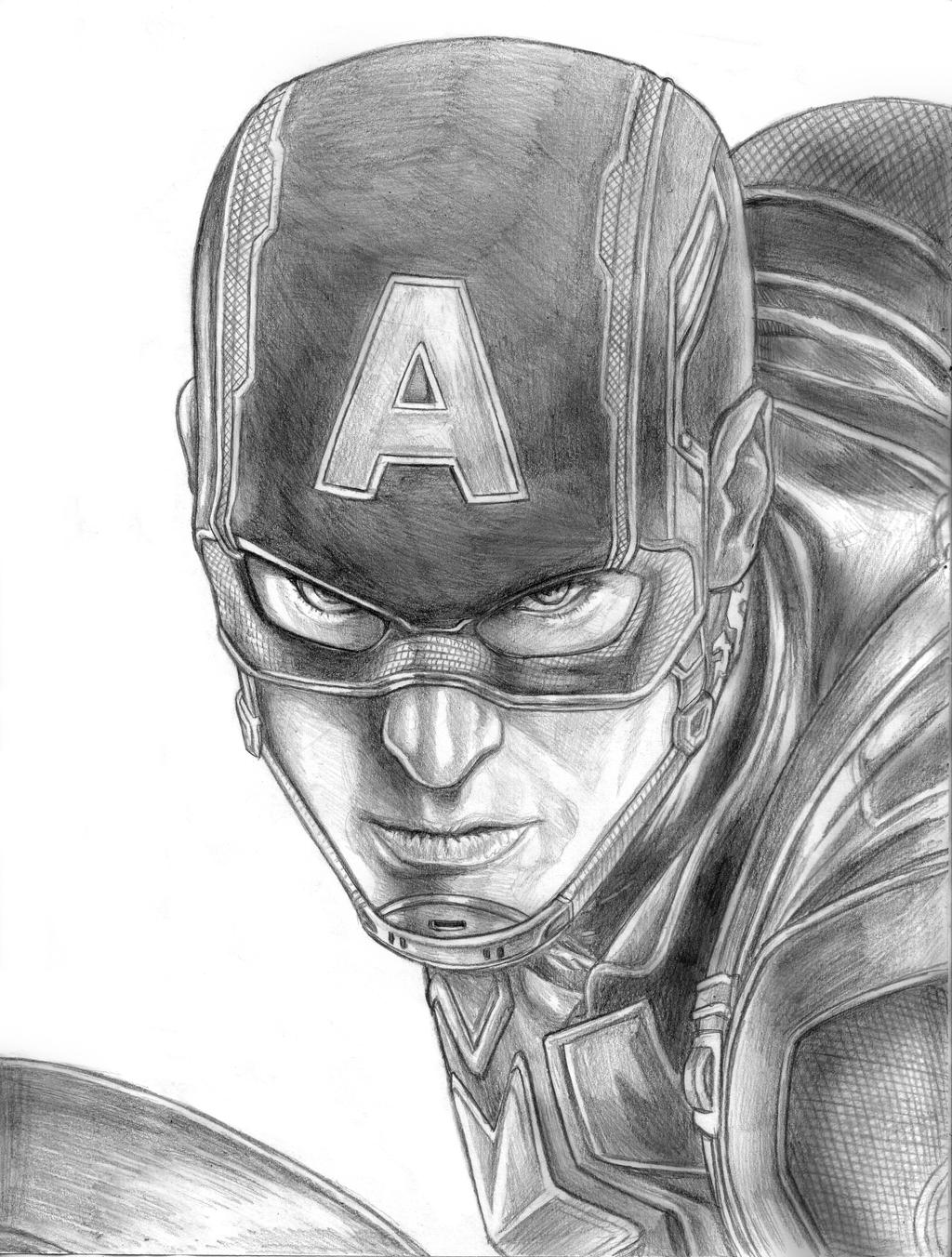 Avengers Age Of Ultron By Iloegbunam On Deviantart: Captain America (Avengers