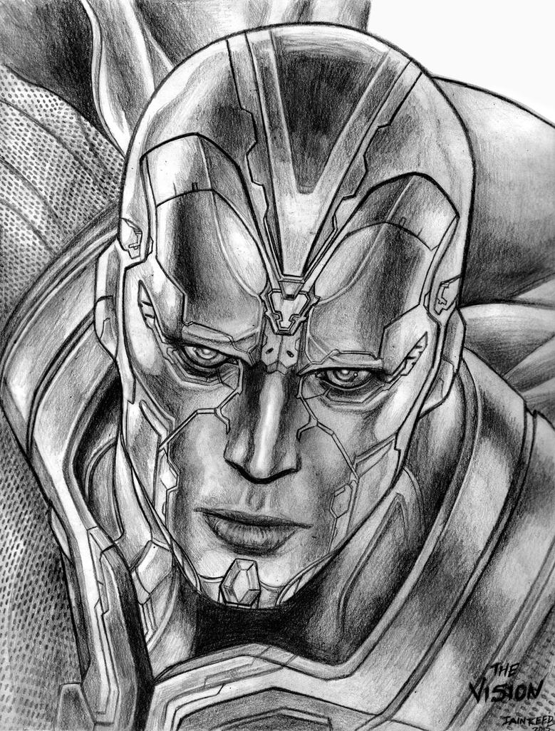 The Vision (Avengers - Age Of Ultron) By SoulStryder210 On DeviantArt
