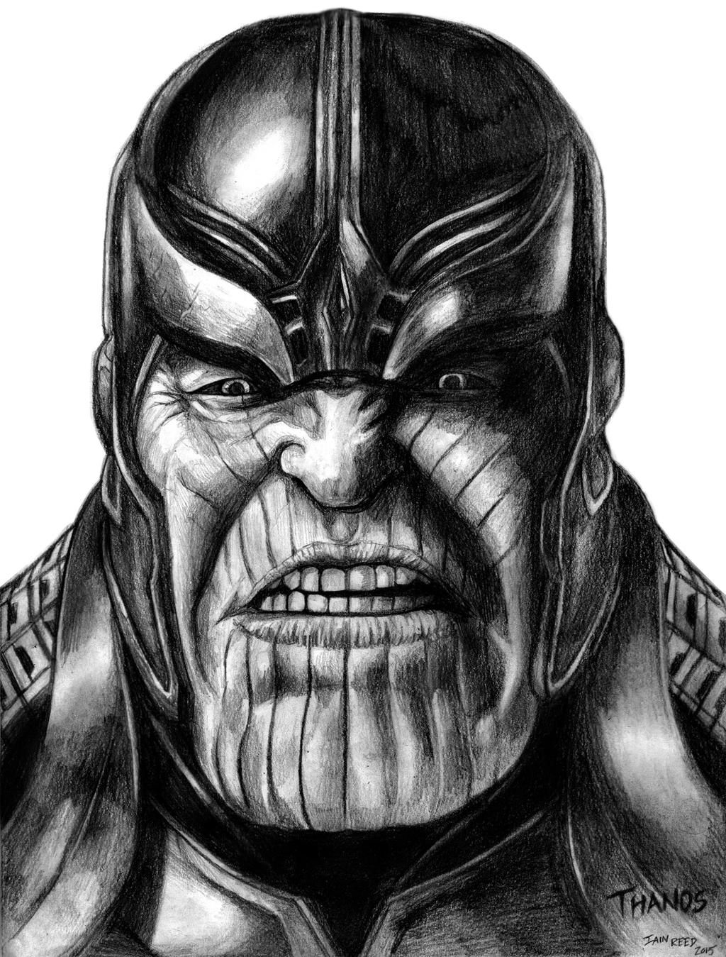 Thanos (Avengers - Infinity War) By SoulStryder210 On DeviantArt