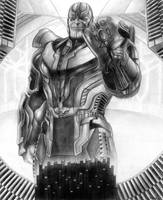 Thanos (Infinity Gauntlet) The Hunt Begins by SoulStryder210