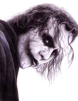 Joker (The Dark Knight) by SoulStryder210