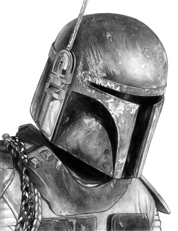 Boba Fett (Star Wars) by SoulStryder210