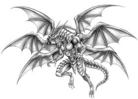 Final Fantasy VII - Bahamut ZERO by SoulStryder210