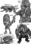Onyx Panther - Ancient Totem - Uktahn - Hwarzi
