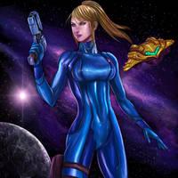 Zero Suit Samus Aran by SoulStryder210