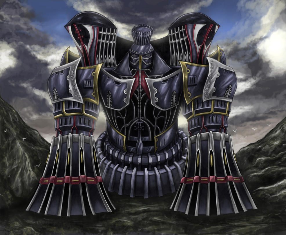 Final fantasy viii alexander divine judgement by for Final fantasy 8 architecture