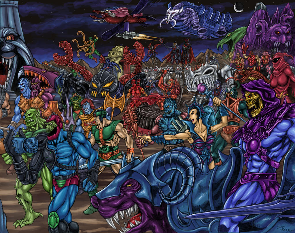 Skeletor's Legion and The Hordak by SoulStryder210 on ...