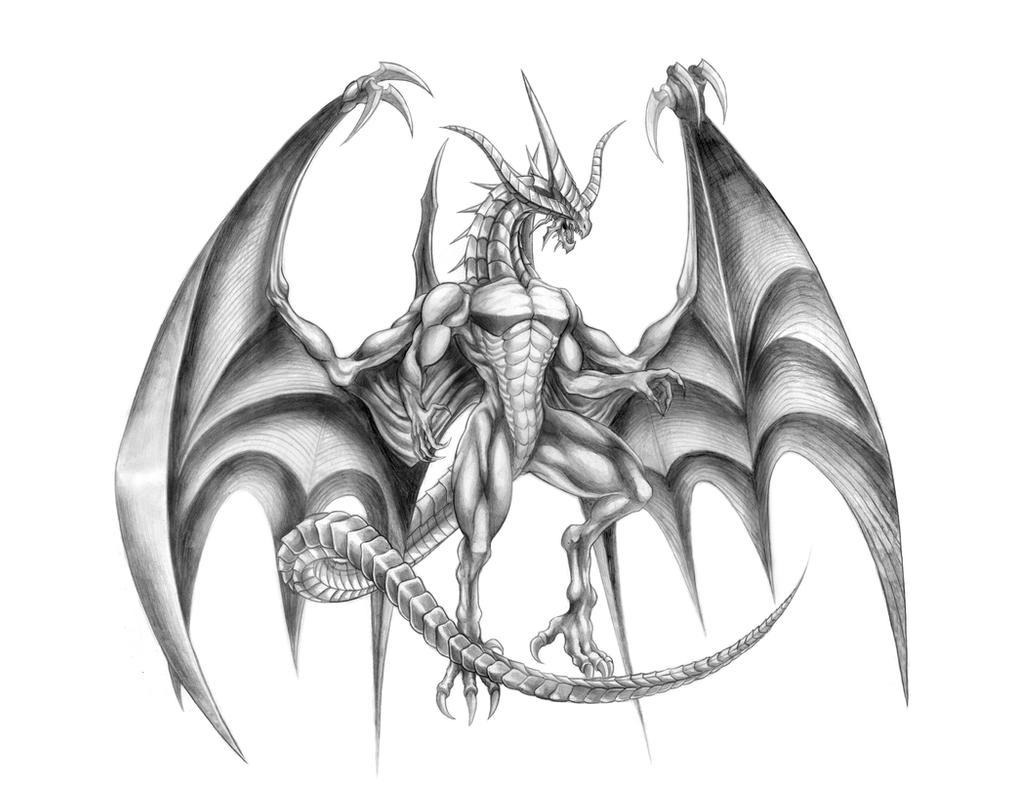 Final Fantasy IX - Bahamut (Fierce Eidolon) Line by SoulStryder210