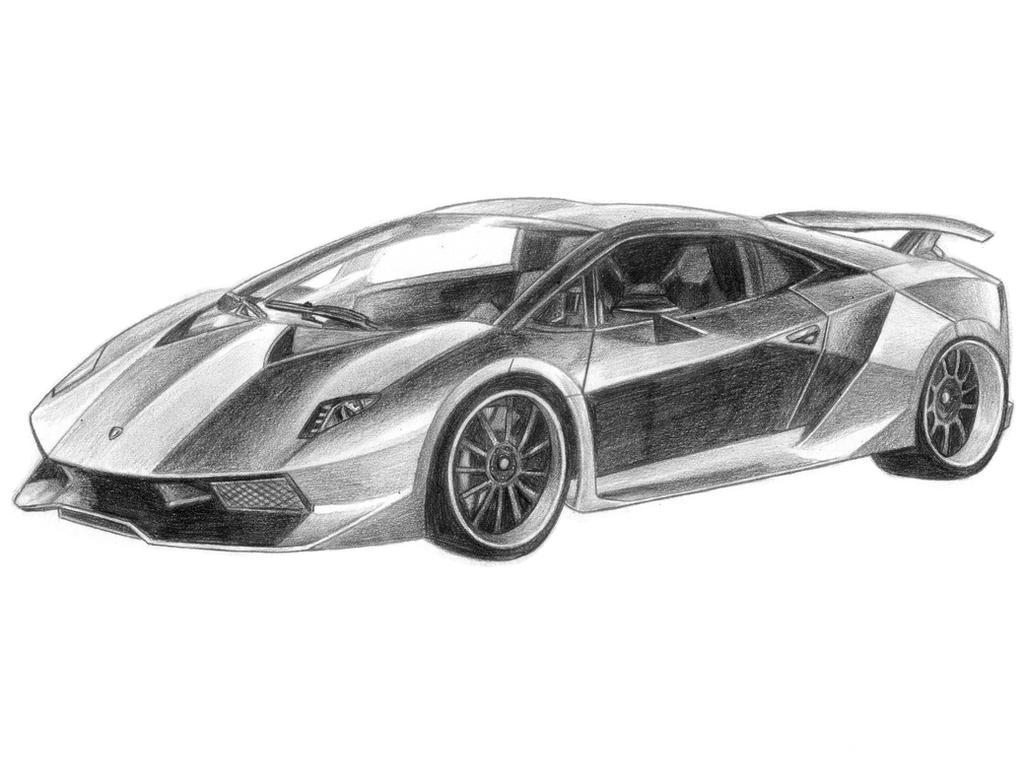 Lamborghini Sesto Elemento by SoulStryder210