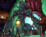 Final Fantasy VII - Bizarro Sephiroth Battle