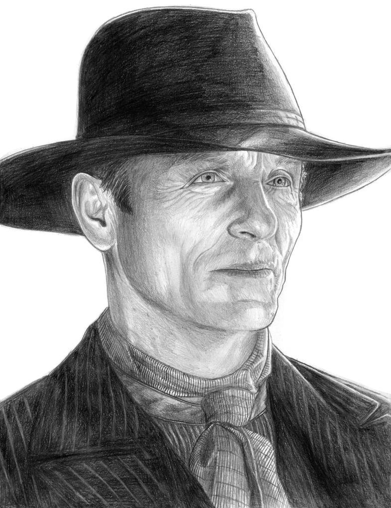 The Man in Black (Westworld) by SoulStryder210