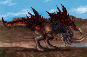 Final Fantasy XV - Bandersnatch (Wandering  Beast) by SoulStryder210