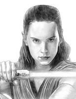 Rey (Star Wars Ep. VIII - The Last Jedi) by SoulStryder210