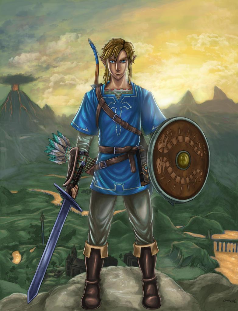 The Legend of Zelda (Breath of the Wild) by SoulStryder210