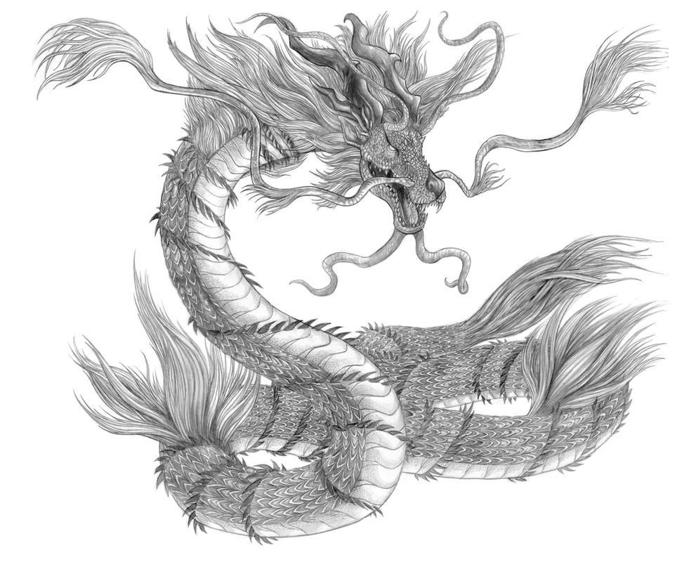 Final Fantasy XV - Jormungand (Line Art) by SoulStryder210