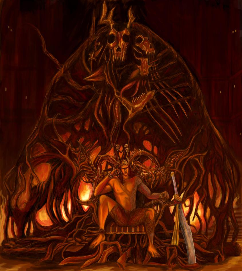 Final Fantasy XV - Ifrit (Hellfire) by SoulStryder210