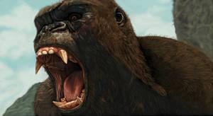 Kong - (Skull Island) by SoulStryder210