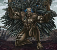 Final Fantasy XV - Titan (The Archaean) by SoulStryder210