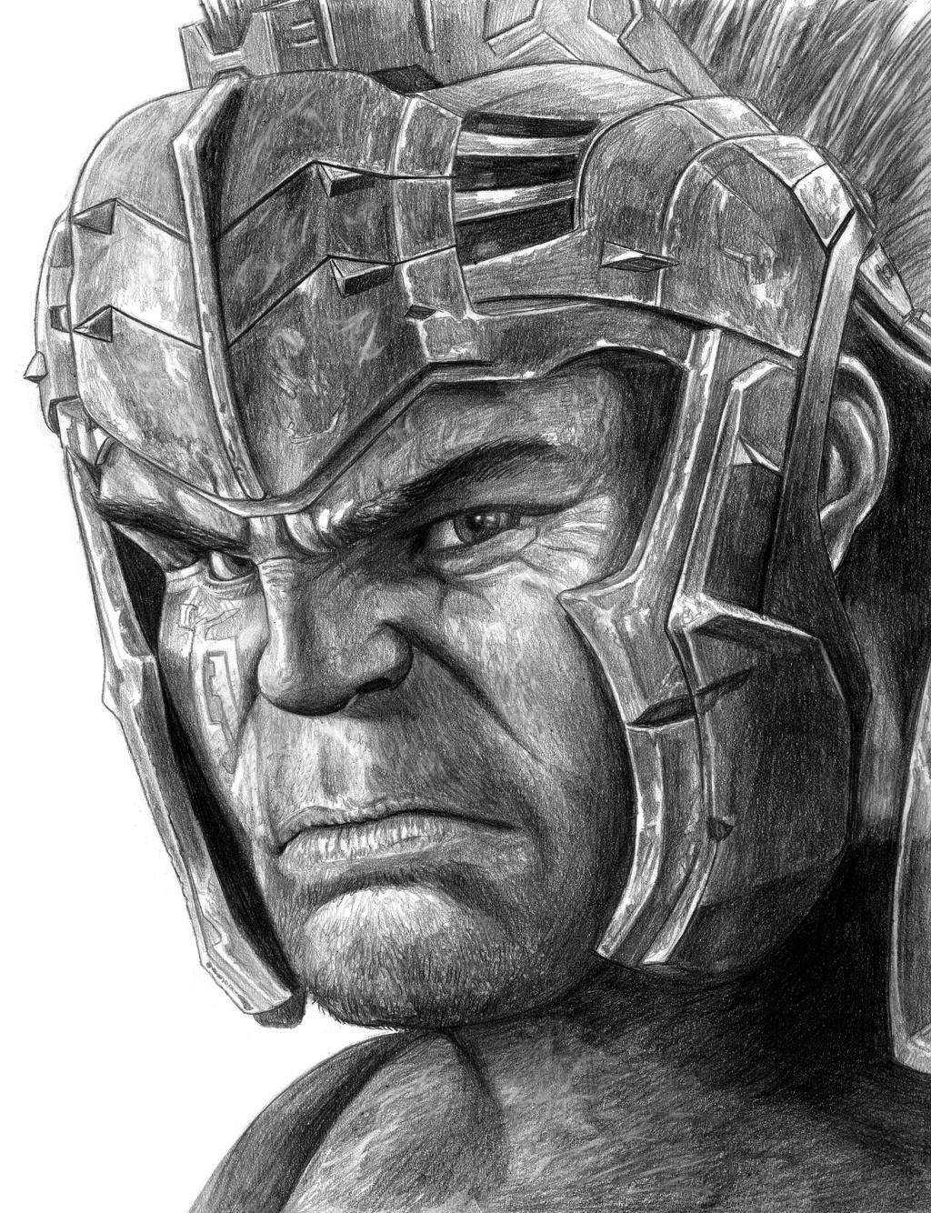 Gladiator Hulk (Thor - Ragnarok) By SoulStryder210 On DeviantArt