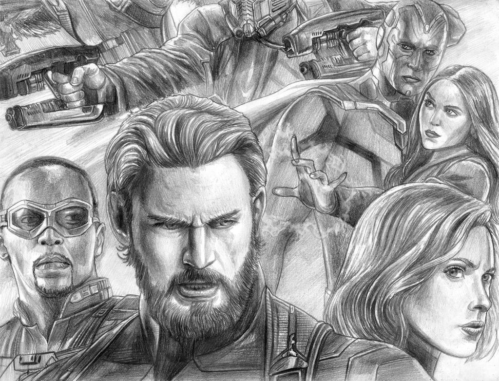 Avengers (Infinity War) Captainu0026#39;s Side By SoulStryder210 On DeviantArt