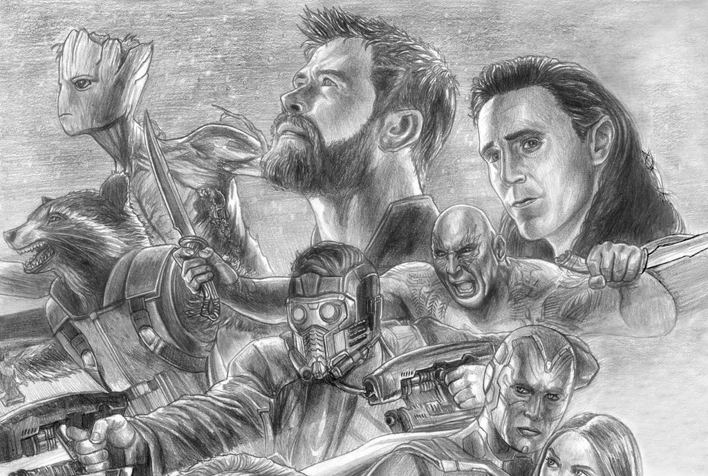 Avengers (Infinity War) Guardianu0026#39;s Side By SoulStryder210 On DeviantArt