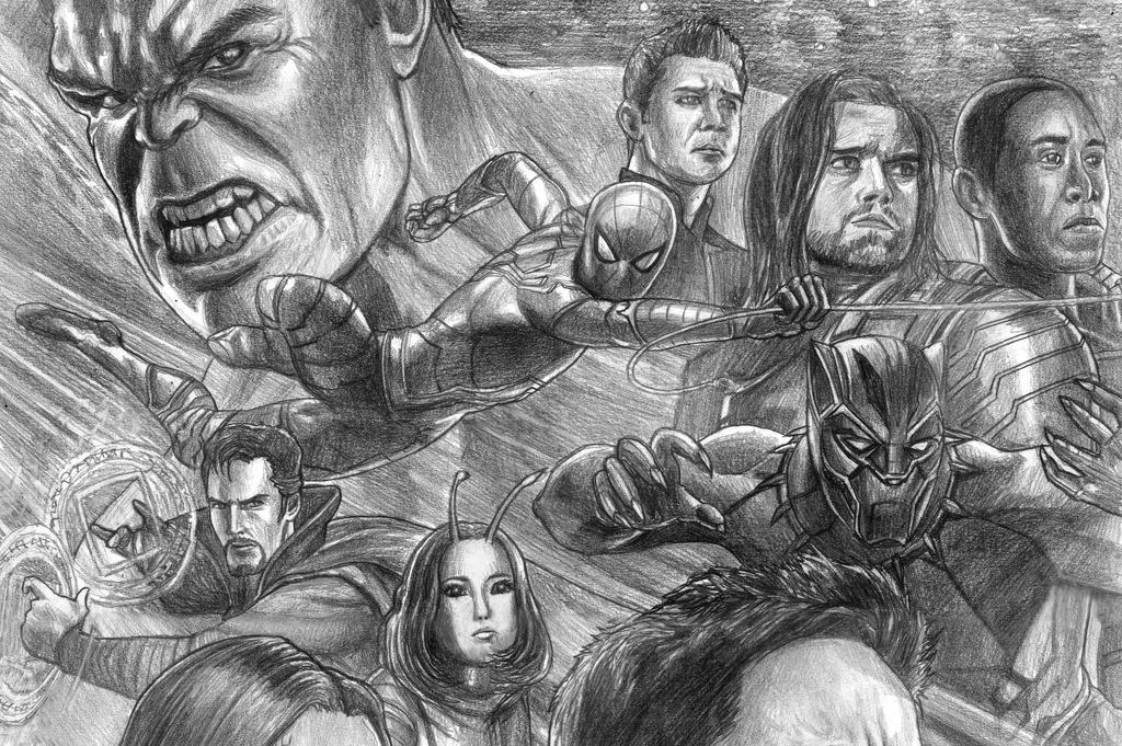 Avengers (Infinity War) - Spidermanu0026#39;s Side By SoulStryder210 On DeviantArt